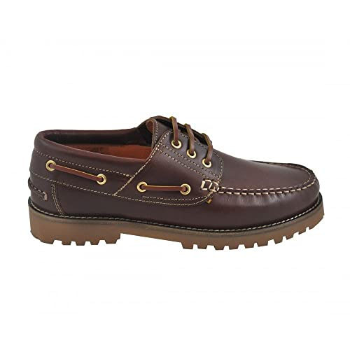 Benavente, Scarpe da Barca Uomo Marrone Size: 35: Amazon.it