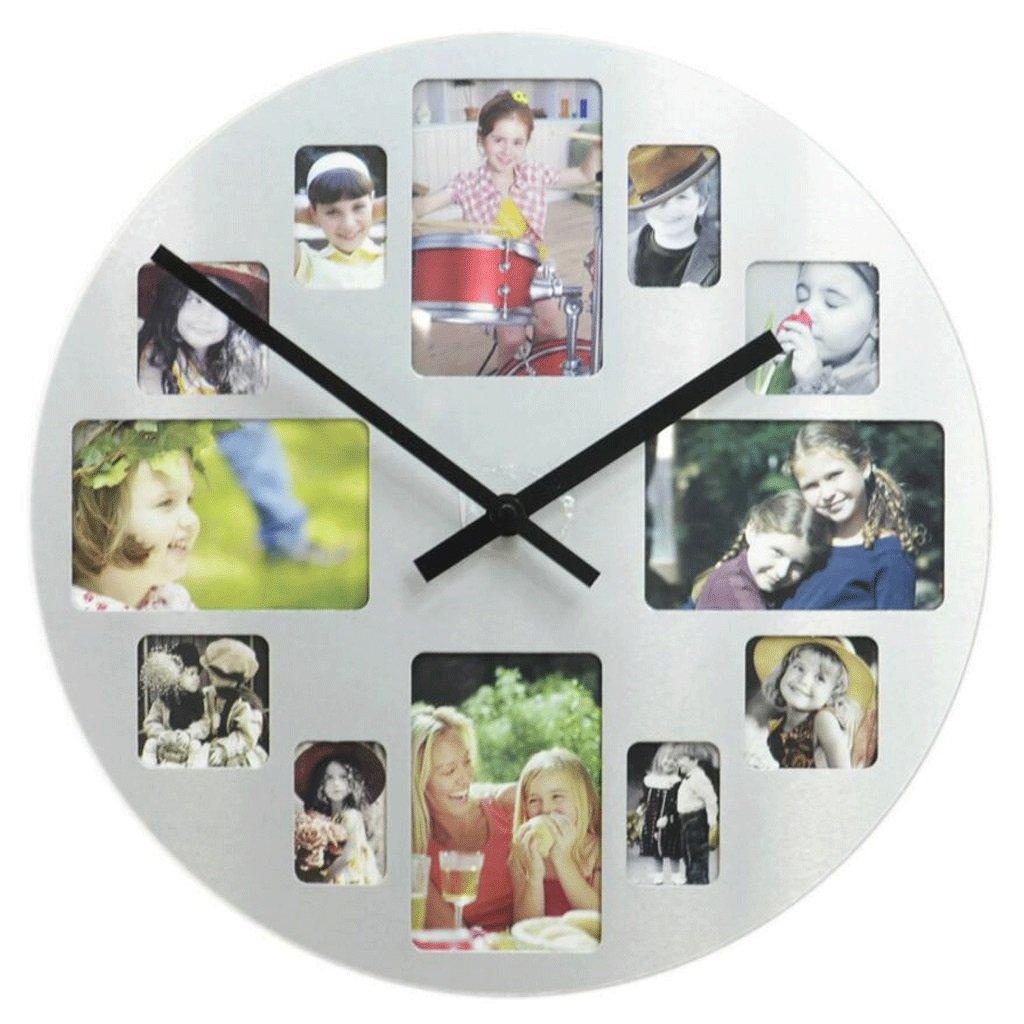 GAOLILI クリエイティブリビングルーム装飾的な壁時計ファッション写真の壁時計モダンな装飾的な時計 ( 設計 : A ) B07C3R8SQH A A