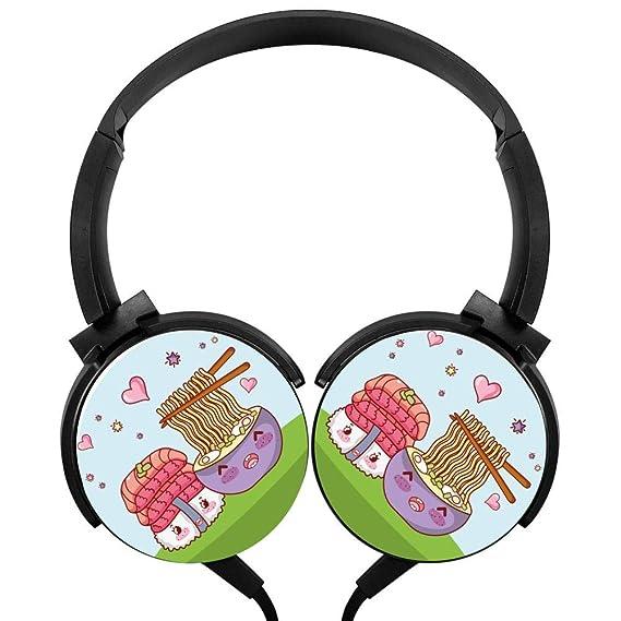 Amazon com: Sushi Ramen Kawaii Headphones 3D Printed Over