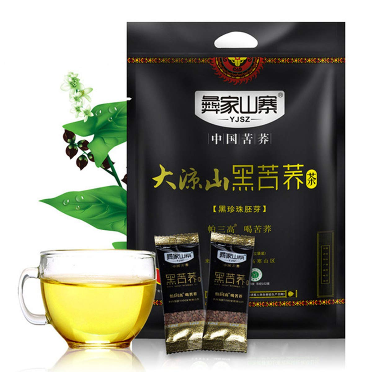 Black Buckwheat Tea Black Tartary Buckwheat Plantule Full Chinese Tea 1000g (2.2LB) Herbal Tea Scented Tea Flower Tea Botanical Tea Herbs Tea Green Tea Green Food Flowers Tea Health Tea 614GBKjfJYL