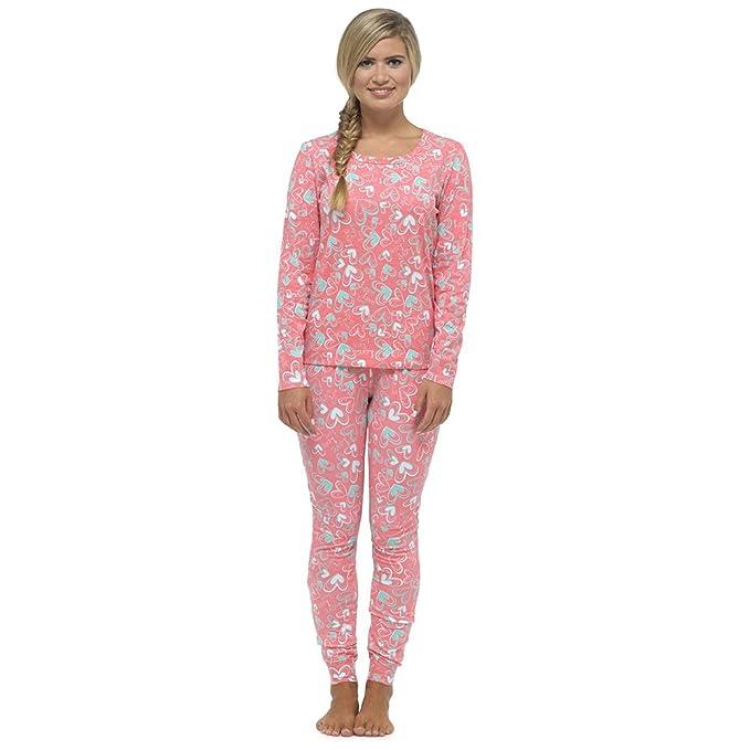 Foxbury - Pijama - para mujer rosa coral M
