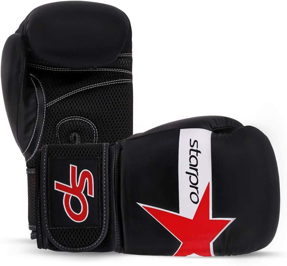 Starpro Boxing Gloves Training Sparring Synthetic Leather for Men /& Women 10oz 12oz 14oz 16oz Good for Mauy Thai Kickboxing Fighting Punching Exercise Fitness Heavy Duty Bag Mitts Workout