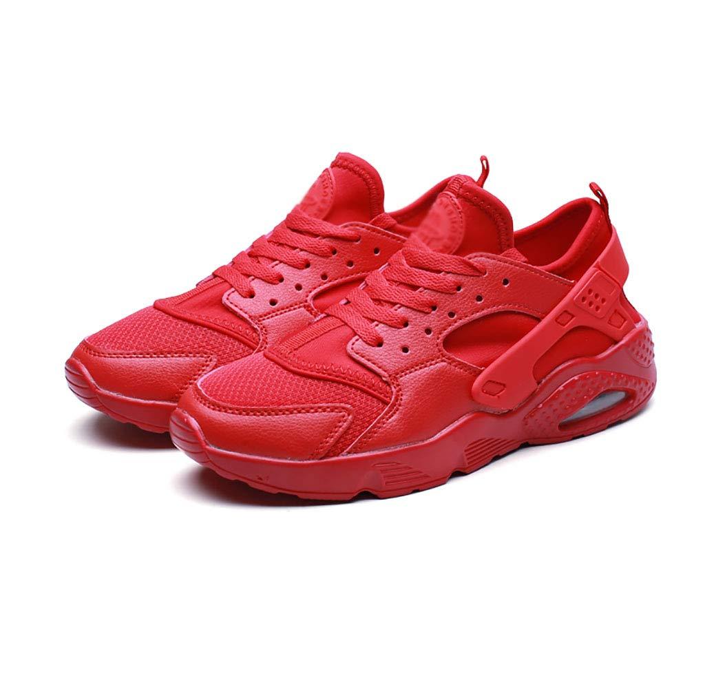 C ZYFA Tillfälliga skor för män och kvinnor kvinnor kvinnor läderskor med platt gummisnoddsko (färg  C, Storlek  44)  mest föredragna