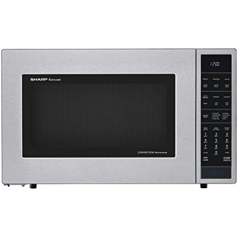 Amazon.com: Sharp smc1585bs 1.5 cu. ft. Microondas Horno con ...