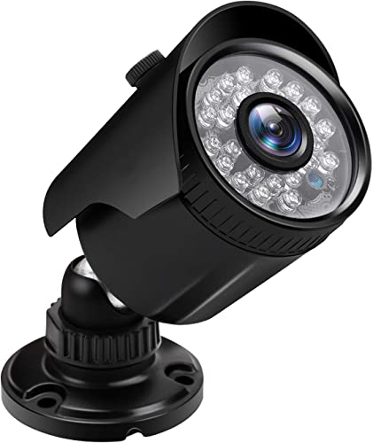 1080P HD CCTV Camera Indoor Outdoor Weatherproof Home Security Camera 24 IR LEDs 85ft Night Vision,Aluminum Metal Housing