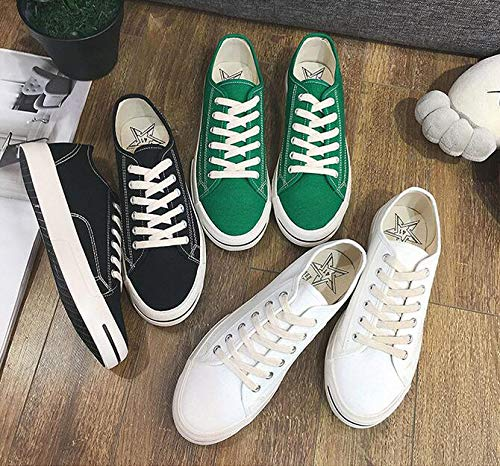 Verde Xue Con De Para Informales Moda Li Sonrisa Transpirables Zapatos Lona Hombre Zhou xq6fRxa