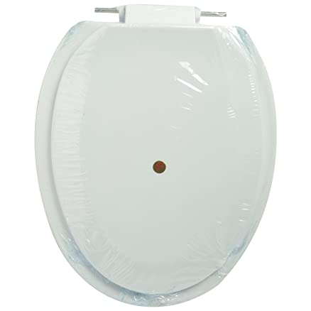 plastic toilet seat covers. Plastic Toilet Seat Cover Ivory  Amazon in Home Improvement