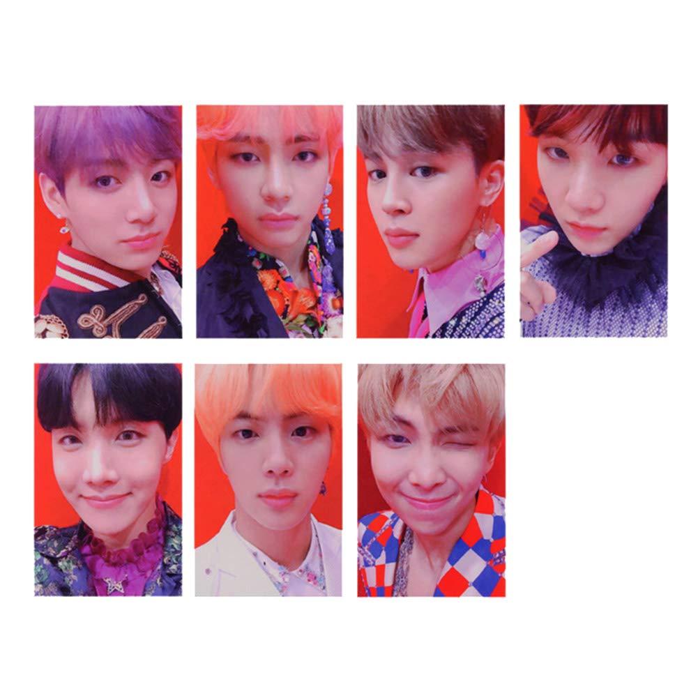 Style 01 Yovvin 32 Pack BTS Fotokarten KPOP Bangtan Jungen Mini Lomo Karten Sammlung und Beste Geschenk f/ür The ARMY Love Yourself 結 Answer