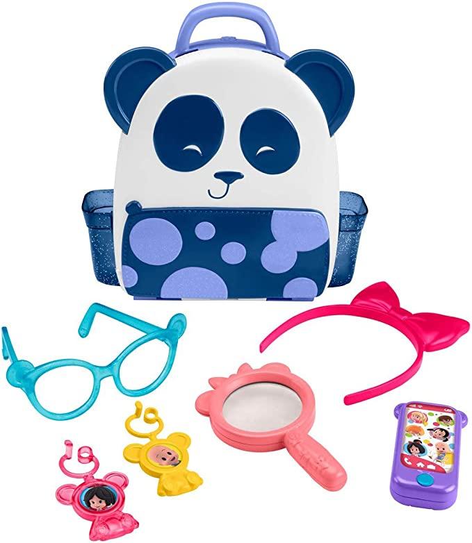 Fisher Price Cuquin Cleo S Panda Figuras Decorativas Multicolor Toys Games