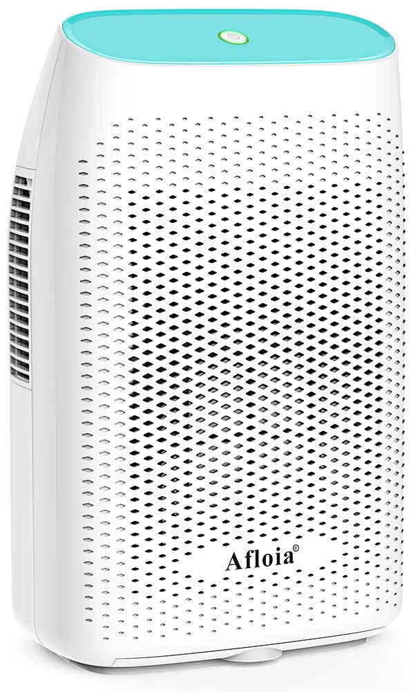 Afloia Electric Dehumidifier for Home Bathroom 2000ML(68 oz),Portable Dehumidifiers for Home 2201 Cubic Feet Space,Quiet Auto-Off Dehumidifiers for Bathroom,Kitchen,Bedroom,Basement,Bedroom,Closet