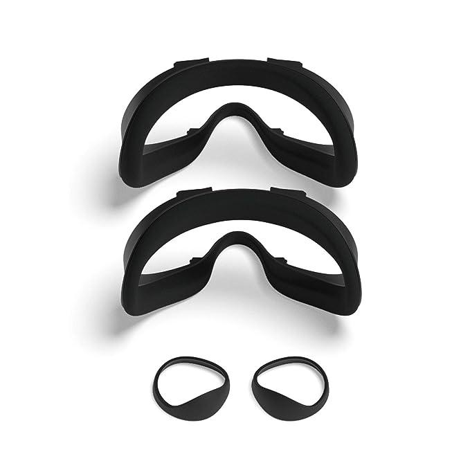 Kit de accesorios para Oculus Quest 2 con dos interfaces faciales y bloqueadores de luz