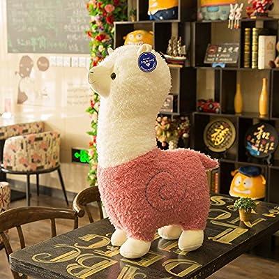 Spring Country Alpaca Plush Toy, Llama Stuffed Animal Large 18
