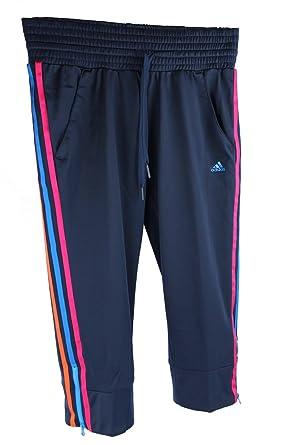 Damen Adidas S Sporthose Hose Capri Fitnesshose 34 Caprihose dCCvwq