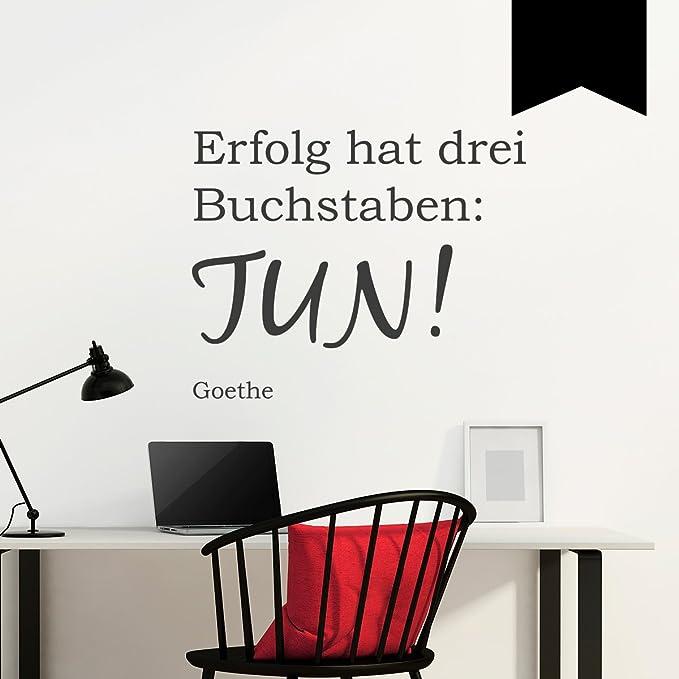 Wandtattoo Buro Deko Wandtatoo Motivation Spruche Wandspruch Erfolg A109 Home Decor Home Garden