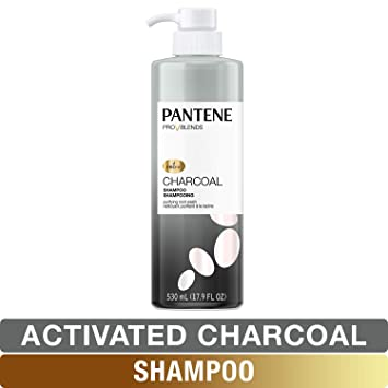 Pantene, Shampoo, with Activated Charcoal, Pro-V Blends, 17 9 fl oz
