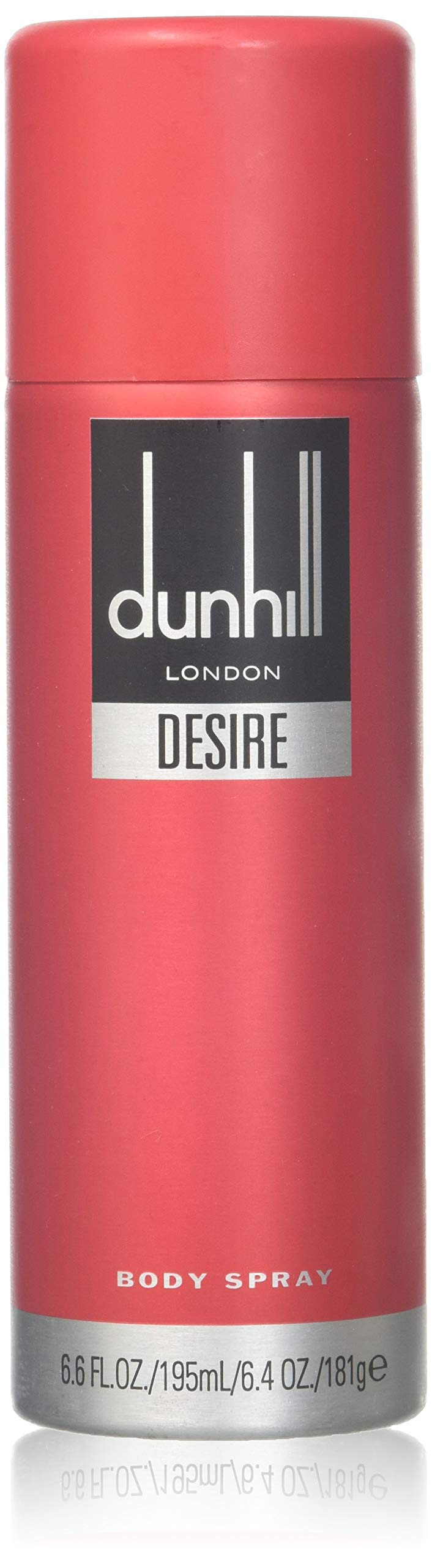 Alfred Dunhill Body Spray for Men, Desire Red, 6.6 Fluid Ounce