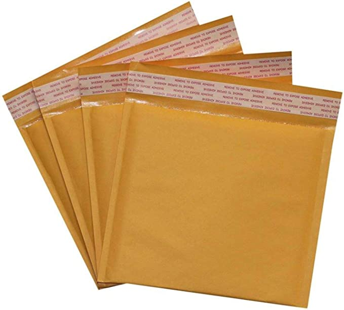 45 #CD 7.25x8 Poly Bubble Mailers Padded Envelope Shipping Supply Bags 7.25 x 8