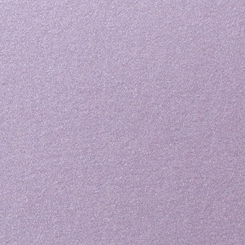 Shimmer Lavender - Lavender Shimmery Metallic Cardstock, 8 1/2 x 11 (50 Sheets) from Paper and More