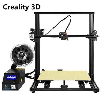 Laecabv Creality CR-10S4 3D Printer Impresora 3D - Dua Z Haste ...