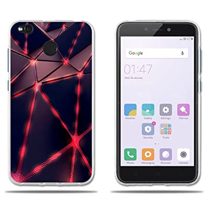 FUBAODA Funda Xiaomi Redmi 4X Carcasa Protectora de Silicona, Carcasa Completa Resistente para Xiaomi Redmi 4X (5.0