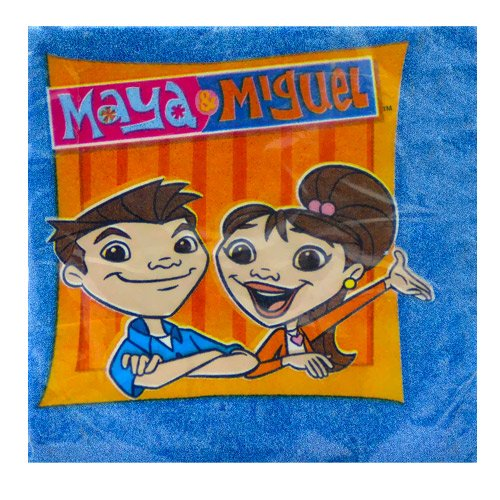 Maya And Miguel Small Napkins (16ct)