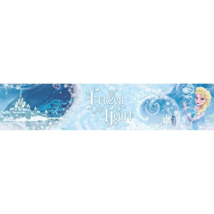 Disney Frozen Heart Elsa Wallpaper Border 5m