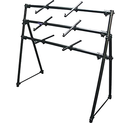 Amazon.com: On Stage KS7903 3-Tier A-Frame Keyboard Stand: Musical ...