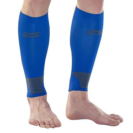 Zensah Ultra Compression Leg Sleeves – Calf Compression Sleeve for Shin  Splints for Men e769ee302cad