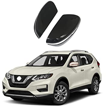 Amazon.com: NINTE - Carcasa de espejo para 14-18 Nissan ...