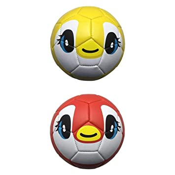 T TOOYFUL 2 Unidades Balñon de Fútbol de Niños Impresión Creativa ...