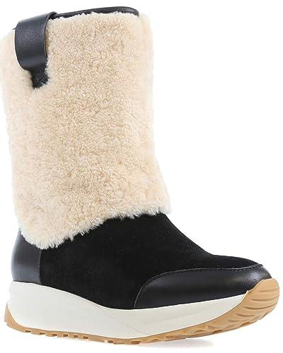 8ae057d635a0 Australia Luxe Collective Bottes Style Runner en Cuir Femme: Amazon.fr:  Chaussures et Sacs