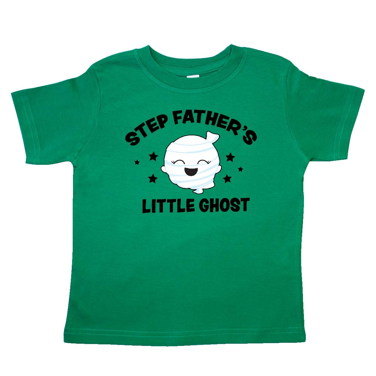inktastic Cute Step Fathers Little Ghost with Stars Toddler T-Shirt