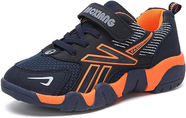 Suela Gruesa Antideslizante Antideslizante Zapatillas de Deporte para niños Zapatillas de Running para niños Zapatillas para niños Transpirables: Amazon.es: Zapatos y complementos