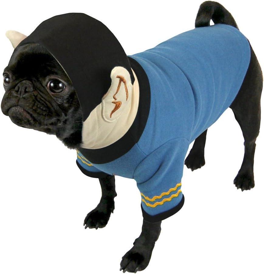 Star Trek – Perros Disfraz Hoodie – Captain Spock (S de XL ...