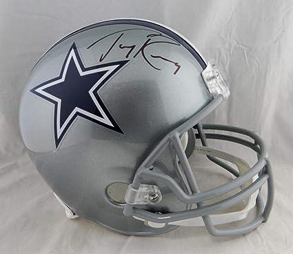 5b6de0e63 Image Unavailable. Image not available for. Color: Tony Romo Autographed  Dallas ...