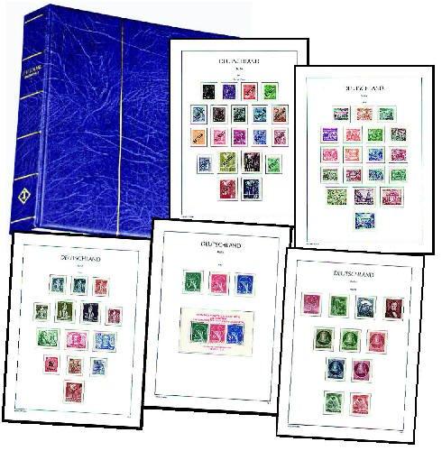 Goldhahn Berlin 1948-1990 Postfrische Komplettsammlung Briefmarken für Sammler