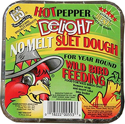 CS Hot Pepper Delight Suet Dough Cake, 11.75 (Delight Suet Dough)