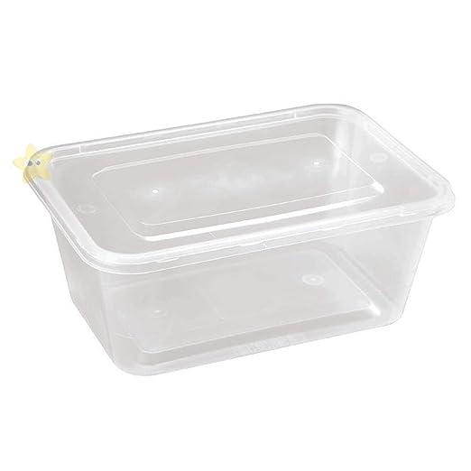 Contenedores rectangulares de almacenamiento de alimentos de 750 ...