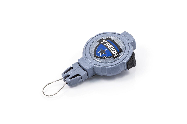 T-Reign Gear /& Tethers Cases Halteklammer mit Clip einziehbar