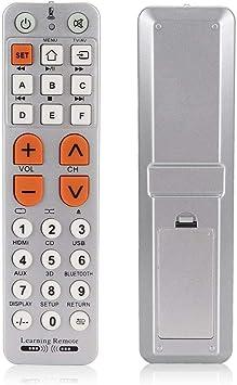 Tipo de Aprendizaje Reemplazo del Control Remoto de TV Se Adapta ...