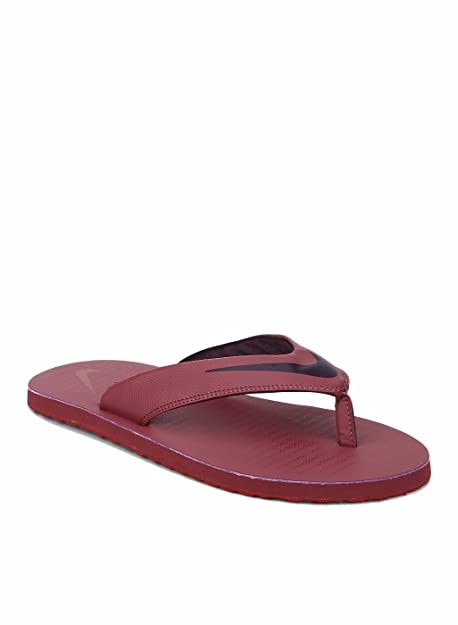5809c5fc4d1c5 Nike Men s Port Wine-Gym Red Chroma Thong 5 Slippers  Buy Online at ...