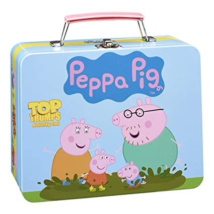 Buy Peppa Pig Collector S Tin Top Trumps Card Game Educational