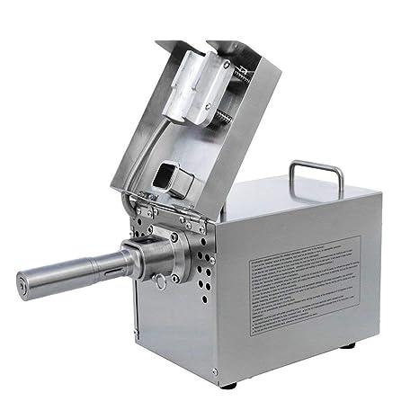 BAOSHISHAN 550W Máquina automática de la prensa de aceite Prensador en frío de acero inoxidable 220V: Amazon.es: Industria, empresas y ciencia