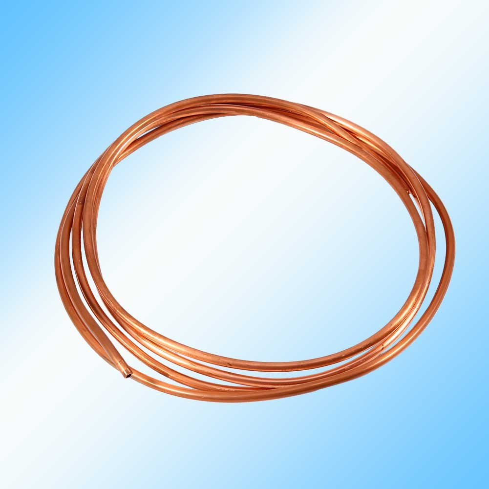 OD 4mm x ID 3mm can be for Refrigeration Plumbing with Fine ductility and corrosion resistance and weldability 2M Soft Copper Tube