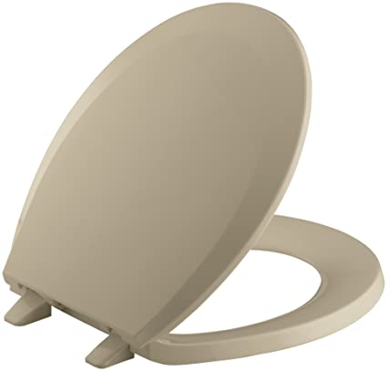 Fantastic Kohler K 4662 33 Lustra With Quick Release Hinges Round Front Toilet Seat Mexican Sand Ncnpc Chair Design For Home Ncnpcorg