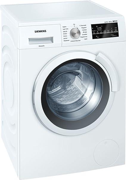 Siemens iQ500 WS12T440 Slim Line / 6,50 kg / A+++ / 119 kWh / 1.200 U/min / aquaStop mit lebenslanger Garantie / Hygiene Prog