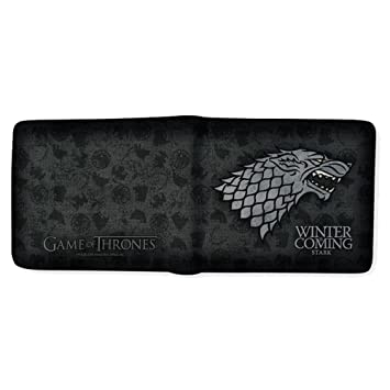bac6e3580 Game Of Thrones Juego de Tronos abybag166 casa de Stark Winter Is Coming  Billetera: Amazon.es: Juguetes y juegos