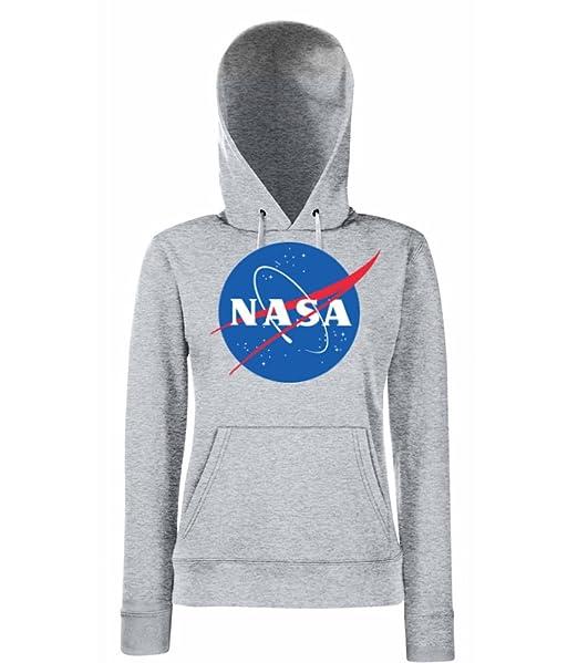 TRVPPY Hooded Sweat Suéter Sudadera con capucha Modelo NASA, para mujer, en muchos colores diferentes: Amazon.es: Ropa y accesorios