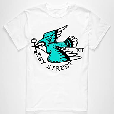 cf19d3073d4 Key Street Men s Blue Jay Graphic T-Shirt  Amazon.co.uk  Clothing