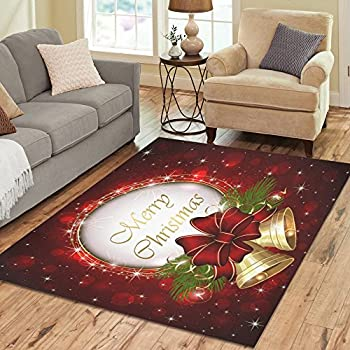 Amazon Com Interestprint Santa Christmas Snowflake Area